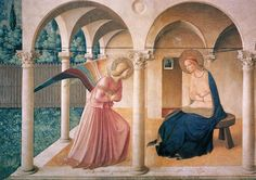 fra angelico - announciation