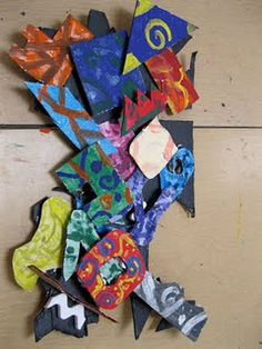 frank stella inspired sculpture 4th