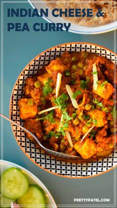 Mutter paneer is an Indian curry, made with a rich tomato sauce and packed full of flavour. This is a vegetarian recipe that is also gluten free. Recipe by prettypatel.com via @pretty_patel