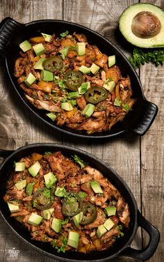Tex-Mex Turkey Skillet - Turkey leftovers for people who are sick of turkey leftovers: get excited about them again with this simple skillet dinner. #Paleo #GlutenFree