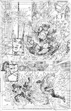 Jim Lee pencils / Justice League