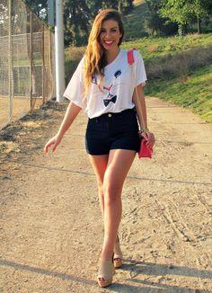 """@Emily Cholakian, StilettoBeats: Wearing Royal Rabbit """"Sassy Rabbit"""" Tee (Seen on Aria in PLL)"""