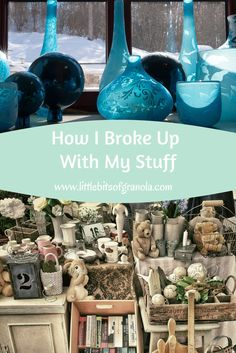 Have you ever felt as if you are drowning in your stuff?  But you just can't seem to get rid of it?  Every time you try, you find yourself overwhelmed, unsure where to begin, and eventually giving up?  Here's the story of how a lifelong packrat broke up with her stuff.
