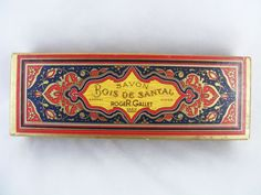 VINTAGE-FRENCH-SOAP-PAPER-BOX