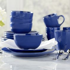Walmart: Canopy 24/7 Collection Beaded Porcelain 16-piece Dinnerware ...