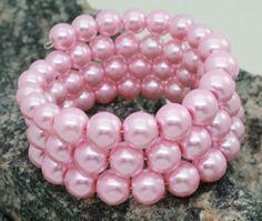 Pink pearls.......love it!