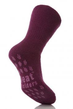 One Pair Ladies//Girls Heat Holder Ultimate Thermal Socks Black UK Size 4-8