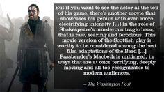 #ActingGod Macbeth 2015, Tragic Hero, Michael Fassbender, Like Me, Favorite Things, Actors, Memes, Celebrities, People