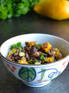 (Gluten Free) Red Quinoa and Mango Salad