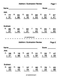 math worksheet : 1000 images about addition and subtraction on pinterest  : Partial Sums Addition Worksheets