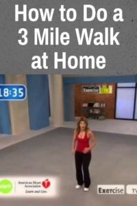 Start Walking at Home - 3 Mile Indoor Walk - The Truth About Weight Loss - leslie sansone Health Benefits, Health Tips, Health And Wellness, Health Fitness, Walking Training, Walking Exercise, Tai Chi Exercise, Daily Exercise, Senior Fitness