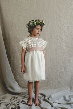 Dresses Kids Girl, Kids Outfits, Flower Girl Dresses, Wedding Bride, Dream Wedding, Wedding Dresses, Wedding Planer, Sewing Patterns Girls, Communion Dresses