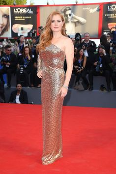 Nocturnal Animals premiere – September 2 2016 Amy Adams wore custom Tom Ford