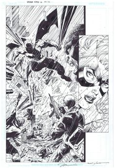 All Star Batman and Robin #6 p.22 by Jim Lee, inks by Scott Williams *