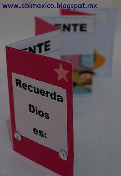 EBI Mexico : Recuerdo Church Activities, Bible Activities, Activities For Kids, Bible For Kids, Art For Kids, Crafts For Kids, Sunday School Teacher, Sunday School Crafts, Kids Church