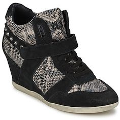 Adore these Ash wedge trainers called Bisou, click to buy with free delivery! #shoes #wedge #trainers #sneakers #ashshoes #womens #fashion #trendy #uk