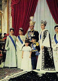 Royal Family - the former Shah of Iran,  My mom went into there palace and met them! -hayley