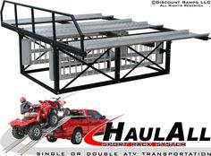 HaulAll ATV Truck Rack