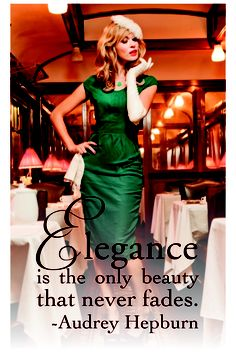 Elegance  Shabby Apple Dining Car Dress  #vintage #quote  Love this dress!