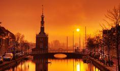 Alkmaar, The Netherlands Daybreak in Alkmaar by Allard Schager