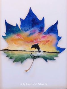 7 Easy Incredible Art On Leaves - Leaf Painting Ideas For Ho.- 7 Easy Incredible Art On Leaves – Leaf Painting Ideas For Home Decor 7 Easy Incredible Art On Leaves – Leaf Painting Ideas For Home Decor - Art Sketches, Art Drawings, Painted Leaves, Painting On Leaves, Leaf Art, Acrylic Art, Art Tutorials, Painting Inspiration, Art Forms