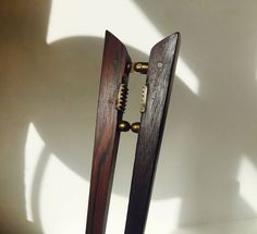 Rare Poul Knudsen Rosewood & Brass Nutcracker danish mid century Carl Aubock alá: http://www.ebay.com/itm/-/262922491861?