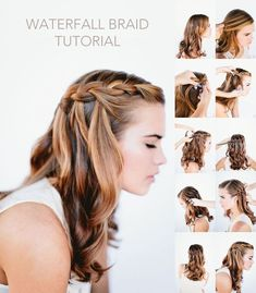 Summer Waterfall Braid Hairstyles with 18 inch #hairplusbase ombre extensions. Do you ❤ this hairstyles ?