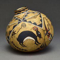 WOODLAND FAERY Gourd Vessel Basket