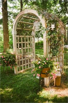 1000 id es sur le th me tonnelles treillis sur pinterest for Au jardin wedding