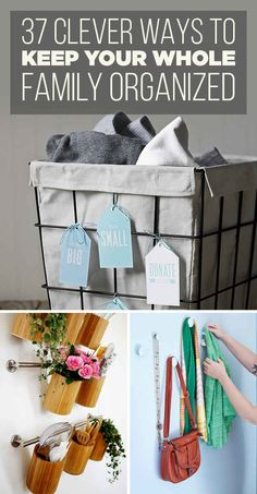 37 Insanely Clever Organization Tips To Make Your Family's Lives Easier --- yeah.kitchen utensils stay in the drawer. I don't need to wash dust off of my utensils before I use them. Organisation Hacks, Household Organization, Life Organization, Declutter Your Home, Organizing Your Home, Organising, Organizing Ideas, Organizing Paperwork, Diy Rangement