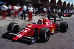 Nigel Mansell Ferrari, Jacarepagua