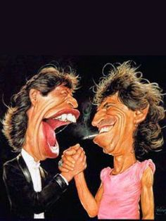 UNIVERSO NOKIA: Mick Jagger & Keith Richards-wallpaper