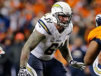 Longtime San Diego Chargers center Nick Hardwick is officially calling it a career. The durable offensive lineman he plans to retire from football on Tuesday after 11 seasons in the NFL, the team announced.