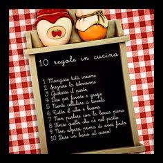 10 regole d'oro da osservare in cucina