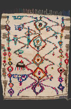 TM 1904, pile rug from the Ourika valley, central High Atlas, Morocco, 1990/2000, 205 x 170 cm (6' 10'' x 5' 8''), p.o.a.