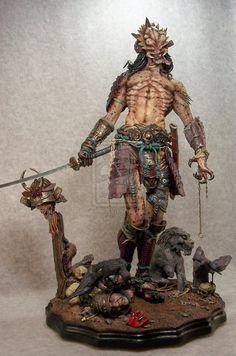 full samurai predator by ~mangrasshopper on deviantART