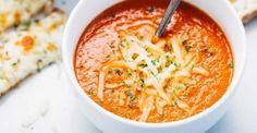 La soupe aux tomates maison... facile et délicieuse.