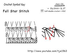 ☆ Crochet Star Stitch CQ