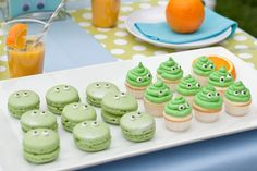 Monster party treat ideas - just add googly eyes!