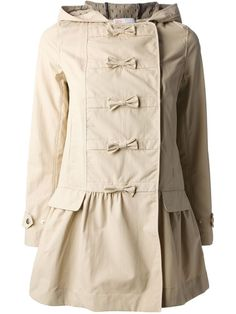 valentino bow coat