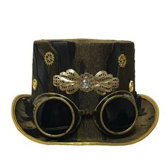 Buy Industrial Gaze Goggles from our gift range at English Heritage. Steampunk Hat, Steampunk Clothing, English Heritage, Metallic Gold, Inventions, Crown, Crystals, Outfit, Hats
