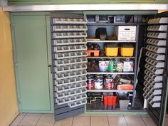 The Garage Organization Solution   ok I have no place for this but it gives me ideas