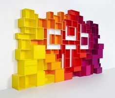 Mymito Cubit Shelving System / Elementos cotidianos al servicio de la creatividad.