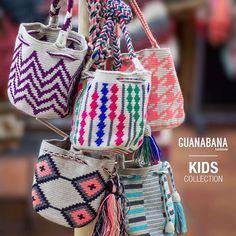 """Daddy,  I  want a Guanabana Bag like Mommy!!!!  #guanabanahandmade#wayuubag#designinspain#handmadeincolombia#kidscollection#guanabanabag#handbag#crosssbodybag#hippychic#guanabana#sharewithmommy"