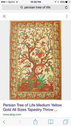Persian tree of life