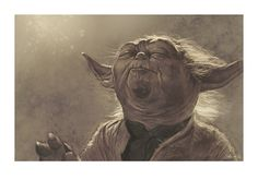 Star Wars - The Empire Strikes Back: Yoda by mygrimmbrother.deviantart.com on @DeviantArt