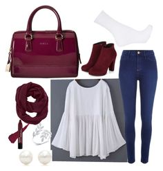 """Untitled #6"" by lbaker-ct on Polyvore featuring River Island, Furla, Tiffany & Co., Athleta and Topshop"