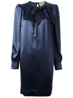 Erika Cavallini Semi Couture Bow Detailed Dress