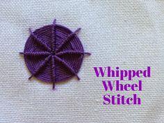 Mooshie Stitch Mondays: Whipped Wheel Stitch