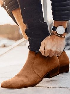 Mens Suede Boots, Mens Ankle Boots, High Ankle Boots, Suede Leather Shoes, Shoe Boots, Soft Leather, Man Shoes, Brown Suede Boots, Mens Boots Fashion